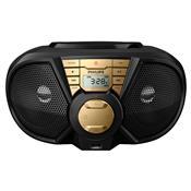 Radio Portátil 5W Rms Usb Preto E Dourado Px3115gx/78 Philips