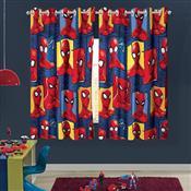 Cortina De Varão Spider Man 1.5 X 1.8M Vermelha Lepper
