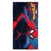 Toalha De Banho Infantil Spider Man 75 X 140Cm Vermelha Lepper
