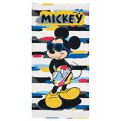 Toalha De Banho Infantil Mickey 70 X 140Cm Amarela Lepper