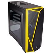 Gabinete Gamer Carbide Spec-04 Mid Tower Preto E Amarelo Cc-9011108-Ww Corsair