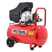 Compressor De Ar 8.8 Pés 50 Litros 2.5 Cv 220V Mam-10/50 Motomil