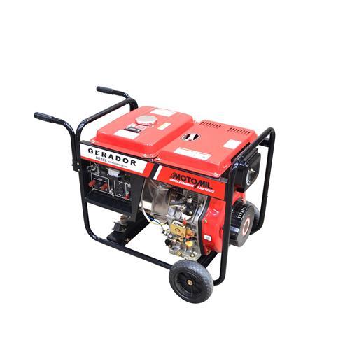 Gerador De Energia À Diesel 13Hp 4 Tempos Monofásico Mdg8000cle Motomil