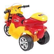 Triciclo Elétrico Infantil Viper 6V Amarelo E Vermelho Homeplay