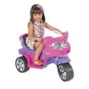 Triciclo Elétrico Infantil Viper 6V Rosa E Roxo Homeplay