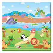 Tapete De Atividades The Sporty Animals 1.25M Verde Safety 1S