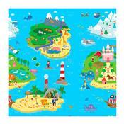 Tapete De Atividades Magical Island 1.85M Azul Safety 1S