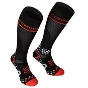 Meia De Compressão Cano Alto Full Socks V2 Preta 5M Compressport