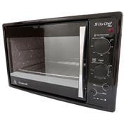 Forno Elétrico Du Chef Plus 45 Litros 1750W Preto Safanelli