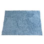 Tapete Para Banheiro Micro Twist 60X40cm Azul Camesa