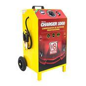 Carregador De Bateria Charger 1000 12 E 24V 100A Bivolt V8 Brasil