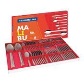 Conjunto Faqueiro Aço Inox 50 Peças Malibu 23798037 Tramontina