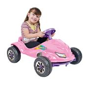 Carrinho Infantil À Pedal Speed Play Rosa 4054 Homeplay