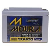 Bateria Moura Estacionária Para Nobreak 12Mva-26 Centrium Energy