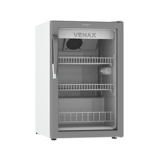 Expositora De Bebidas Vv100 Branca 220V Porta De Vidro Venax