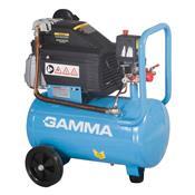 Compressor De Ar Com Kit Acessórios 25L 8 Bar 2Hp Gamma