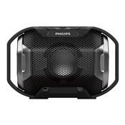 Caixa Multimídia Portátil Bluetooth Sb300b/00 Preto Philips