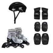 Kit Roller Com Acessórios De Segurança 31 Ao 34 Cinza 40600102 Mor
