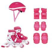 Kit Roller Com Acessórios De Segurança 30 Ao 33 Rosa 40600101 Mor