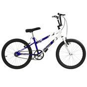 Bicicleta Rebaixada Azul E Branca Aro 20 Pro Tork Ultra
