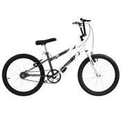 Bicicleta Rebaixada Cinza Fosca E Branca Aro 20 Pro Tork Ultra