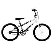 Bicicleta Rebaixada Preta Fosca E Branca Aro 20 Pro Tork Ultra
