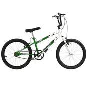 Bicicleta Rebaixada Verde E Branca Aro 20 Pro Tork Ultra