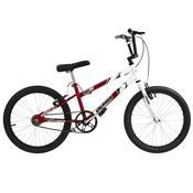 Bicicleta Rebaixada Vermelha E Branca Aro 20 Pro Tork Ultra