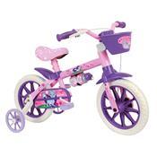 Bicicleta Infantil Cat Aro 12 Rosa E Lilás Nathor