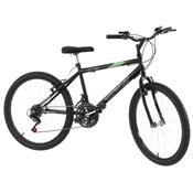 Bicicleta 18 Marchas Aro 24 Preto Pro Tork Ultra