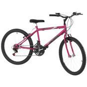 Bicicleta 18 Marchas Aro 24 Rosa Pro Tork Ultra