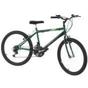 Bicicleta 18 Marchas Aro 24 Verde Pro Tork Ultra