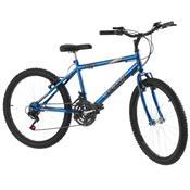 Bicicleta Aro 24 18 Marchas Blue Chrome Line Pro Tork Ultra