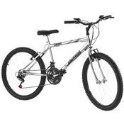 Bicicleta Aro 24 18 Marchas Cromada Chrome Line Pro Tork Ultra