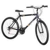 Bicicleta Preta Aro 26 18 Marchas Carbono Pro Tork Ultra