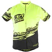 Camisa Para Ciclismo Adulta Bike Line Amarela Ultra Bikes