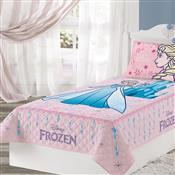 Colcha De Solteiro Matelassê Frozen 1.5X2.1M Rosa Lepper