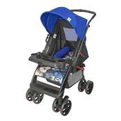 Carrinho De Bebê Supreme Até 15 Kg Preto E Azul Tutti Baby