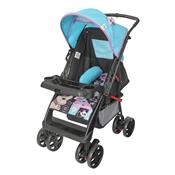 Carrinho De Bebê Supreme Até 15 Kg Preto E Rosa Tutti Baby