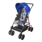 Carrinho De Bebê Damiano Até 15 Kg Preto E Azul Tutti Baby