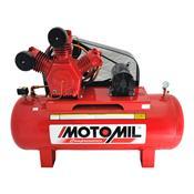 Compressor De Ar Industrial 350L 10Hp Trifásico 220/380V Maw-40/350 Motomil