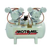 Compressor De Ar Odontológico 2X1 Hp Mono Bivolt Cmo-12/150 Motomil