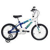 Bicicleta Infantil Ocean Aro 16 Branca E Azul Verden Bikes