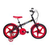Bicicleta Infantil Rock Aro 16 Vermelha E Preta Verden Bikes