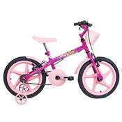 Bicicleta Infantil Fofys Aro 16 Aço Carbono Pink Verden Bikes
