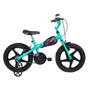 Bicicleta Infantil Aro 16 Vr 600 Azul Turquesa E Preta Verden Bikes
