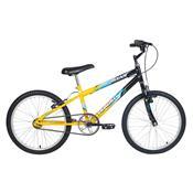 Bicicleta Masculina Ocean Aro 20 Preta E Amarela Verden Bikes