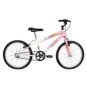 Bicicleta Feminina Brave Aro 20 Rosa E Branca Verden Bikes