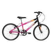 Bicicleta Feminina Brave Aro 20 Preta E Pink Verden Bikes