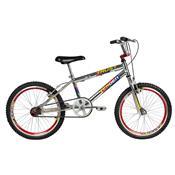 Bicicleta Masculina Trust Aro 20 Cromada E Vermelha Verden Bikes